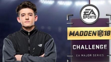 Madden 18 Challenge Champ Drini Gjoka, Matthew Sherdan portfolio