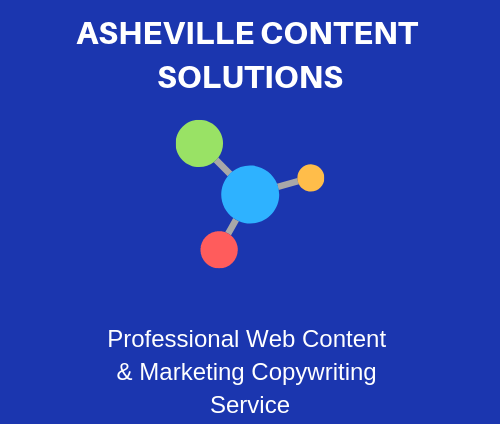 Asheville content solutions and SEO services